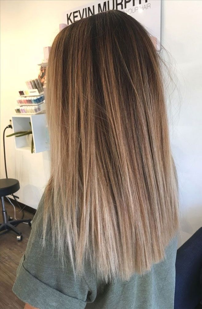 49 Schöne hellbraune Haarfarbe für einen neuen Look - Die beste Haarfarbe ... - #beaut ...