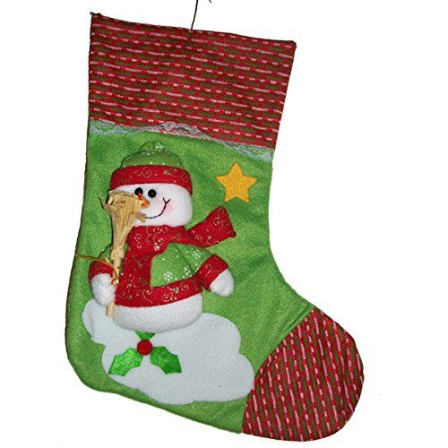 Bargain World Snowman With A Broom Christmas Stocking Gift Bag Ornament     This Is An. Tree StandsChristmas ...