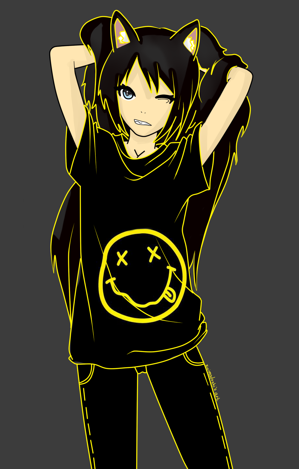 Nirvana's fun by ~Kuimodosh  I'm not even going to lie, I dressed like this for Halloween. 2emo4u ;)