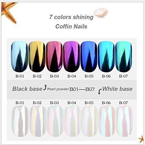 Newest Nail Powder Neon Mirror Crystal Powder Rainbow Crystal Opal Diy Shell Nail Art Chrome Pigment Nail Art Decor Nails Art & Tools
