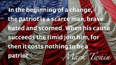 Patriot-.Mark Twain