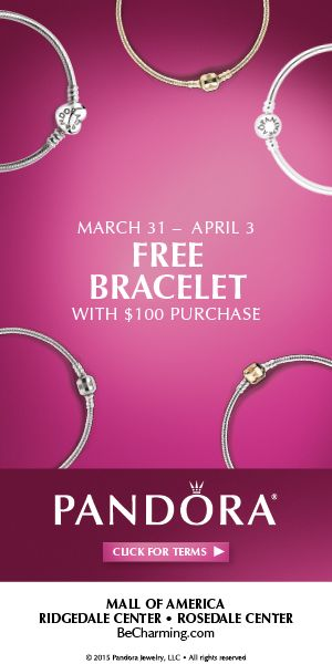 Pandora Spring Free Bracelet Event March 31 April 3 Details At Becharming Previously Pandoramoa