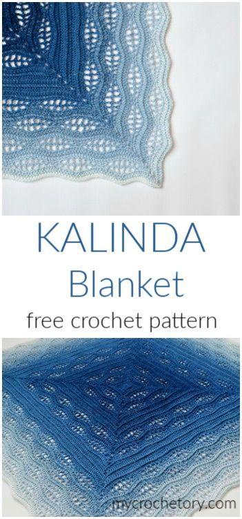 Kalinda Crochet Blanket - MyCrochetory