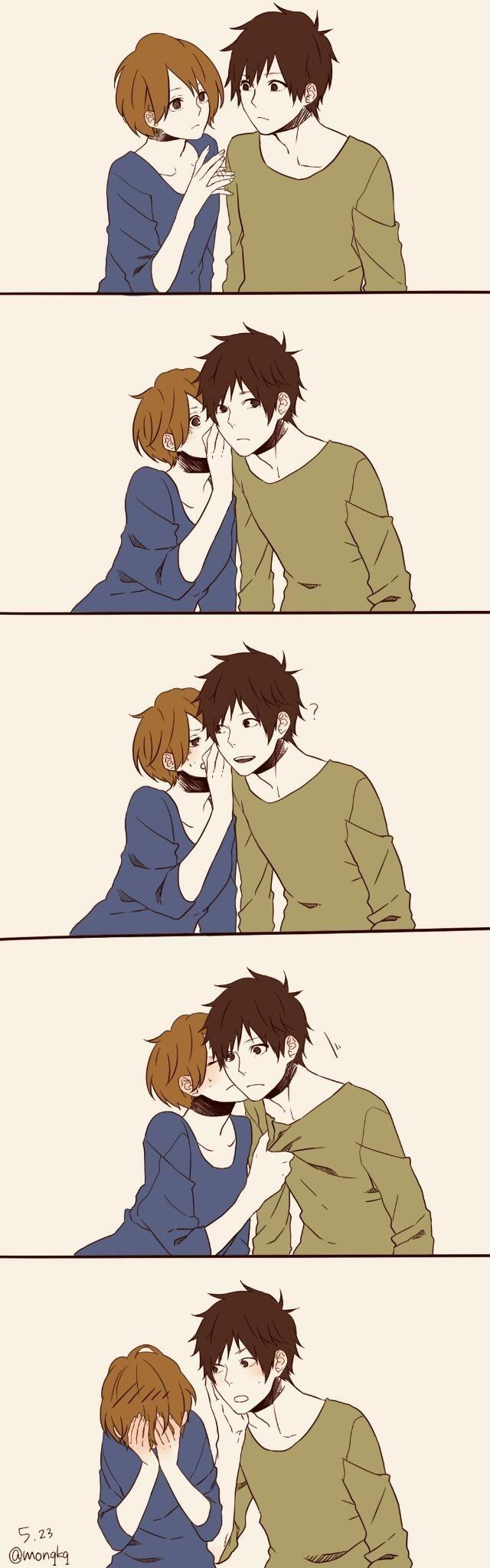 あのね。キスの日 by深町なか | 深町なか | pinterest | anime、anime