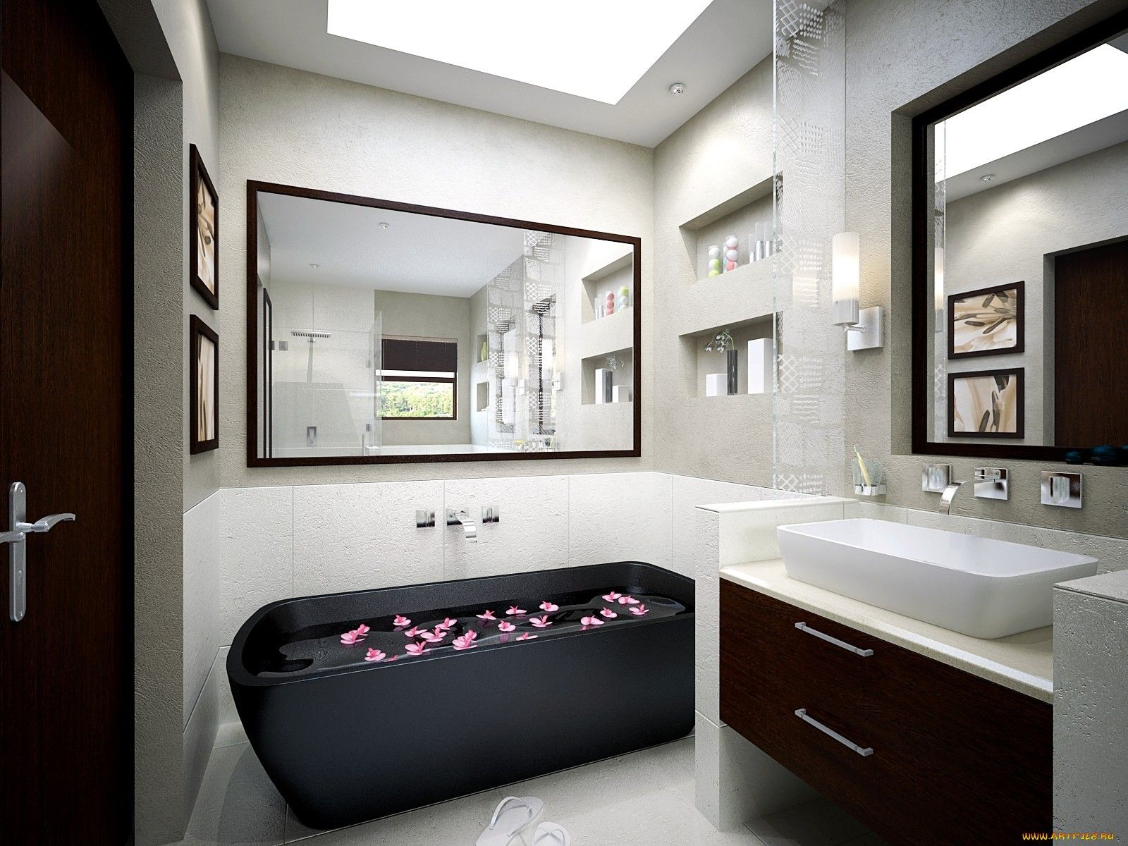 banyo dekorasyon modelleri bathroom ideas | Design de Interiores ...