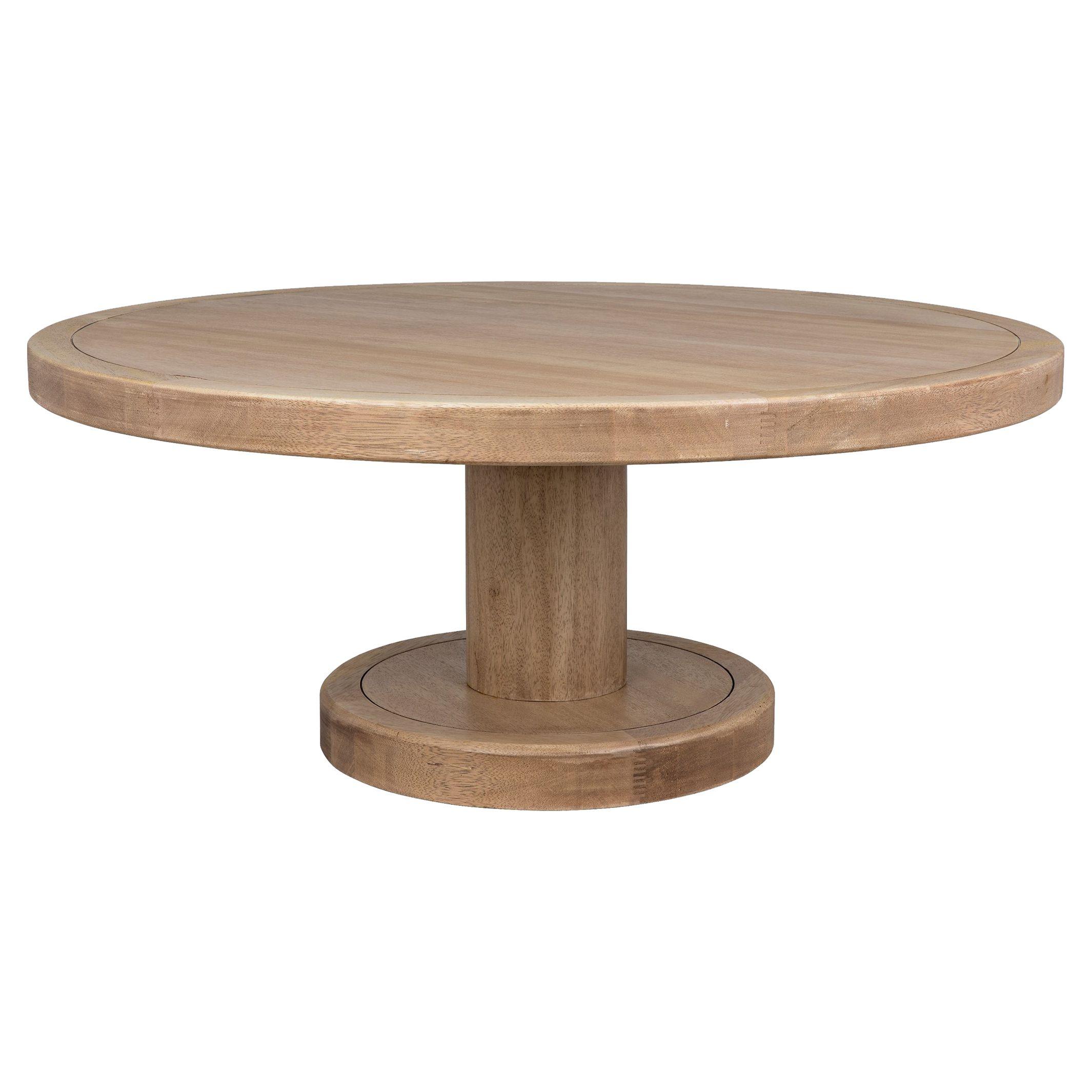 Noir Milena Modern Classic Brown Wood Round Round Coffee Table Coffee Table Walnut Coffee Table Round Coffee Table [ 2130 x 2130 Pixel ]