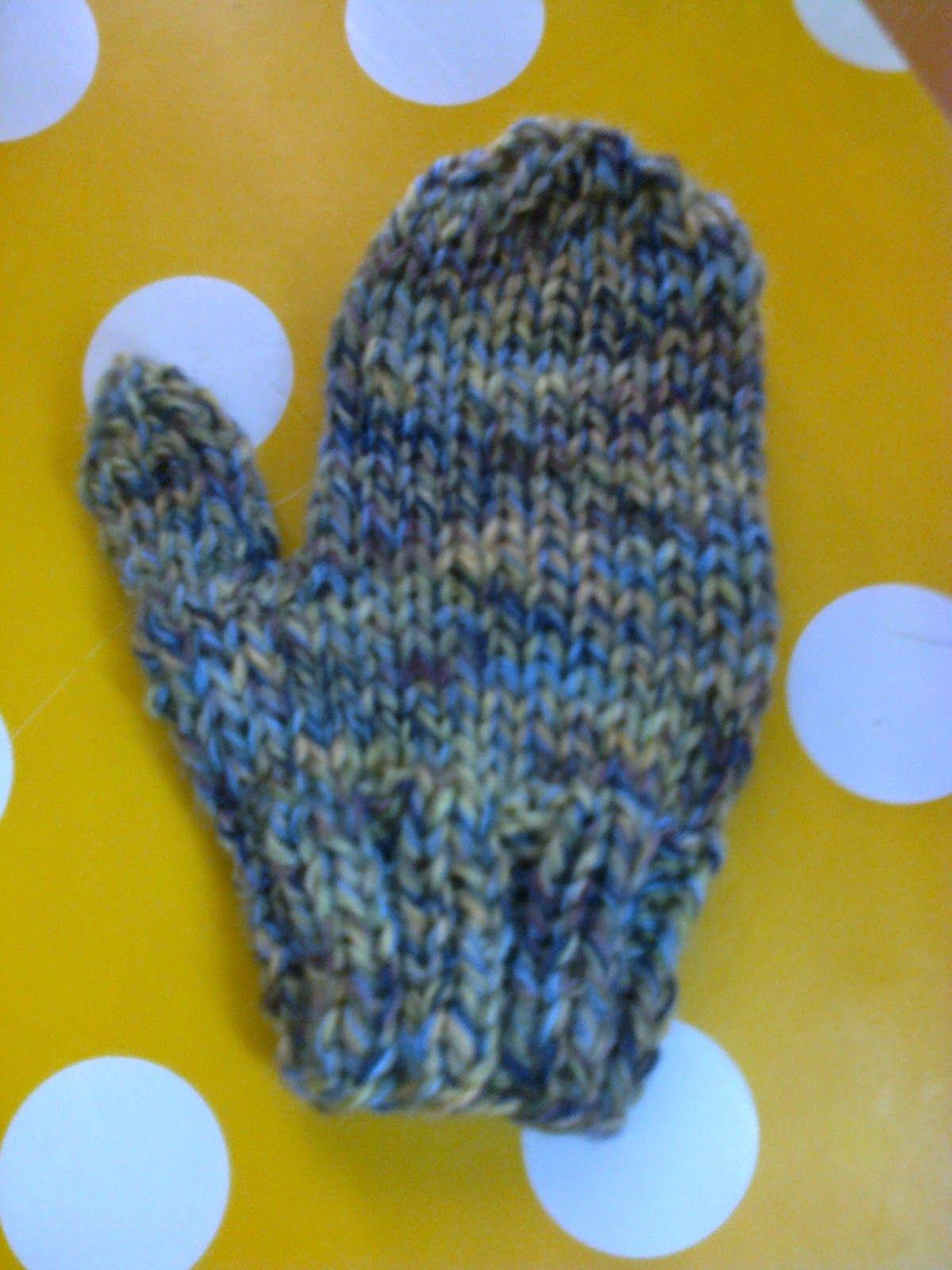 Breien En Haken In Oostende Beginners Knitting Gloves For A