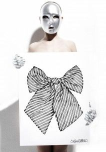 Lauren Moshi Bow print.