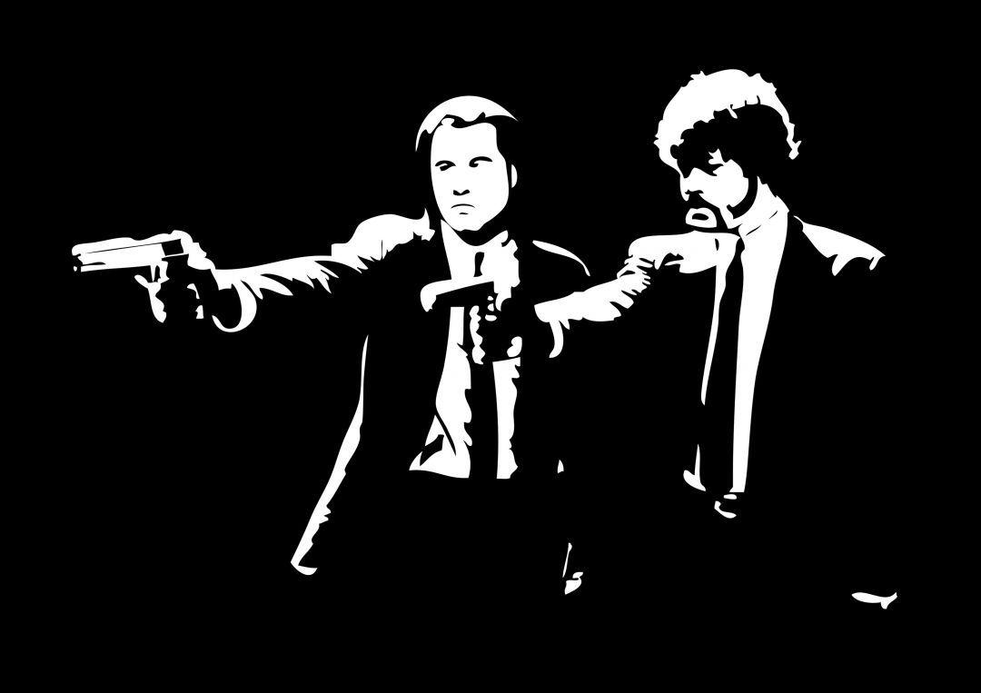 Poster Pulp Fiction Classic Kriminalnoe Chtivo Kriminalnoe Chtivo Illyustracii Graffiti