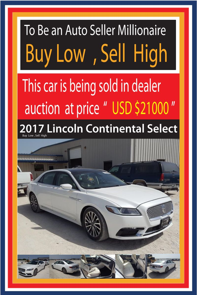 Monkeyhoo To a auto dealer millionaire Buy low