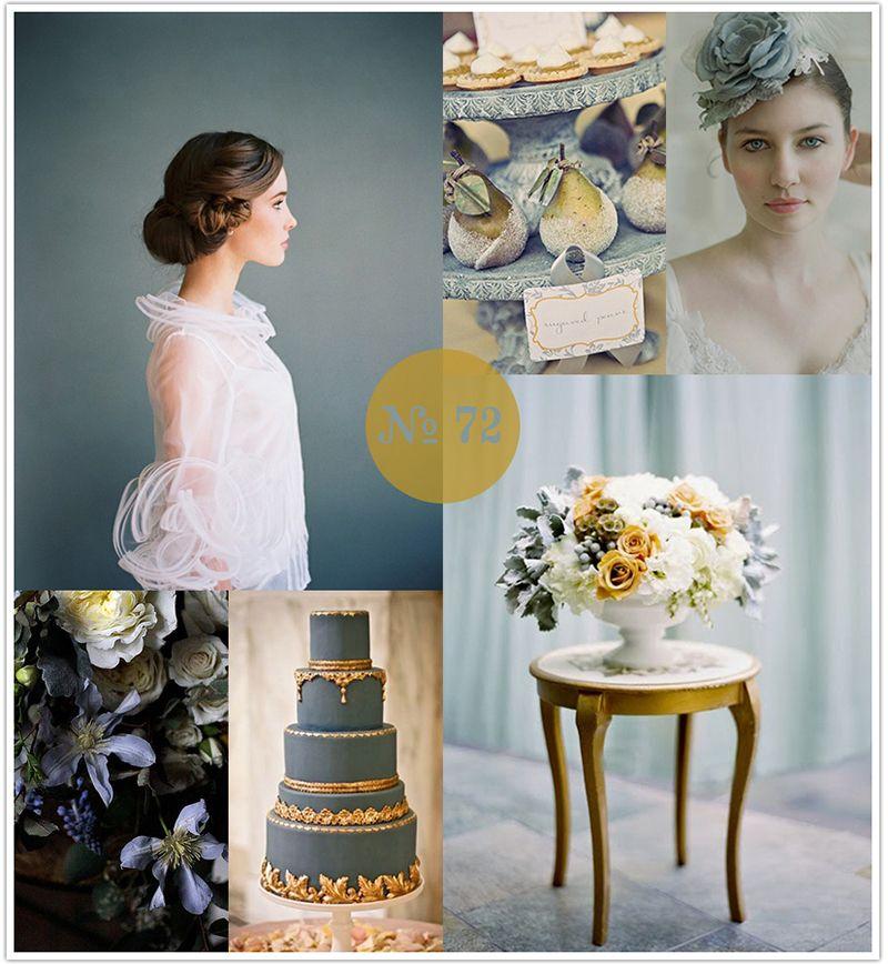 2 dusk blue spring color trend 2013 wedding colors