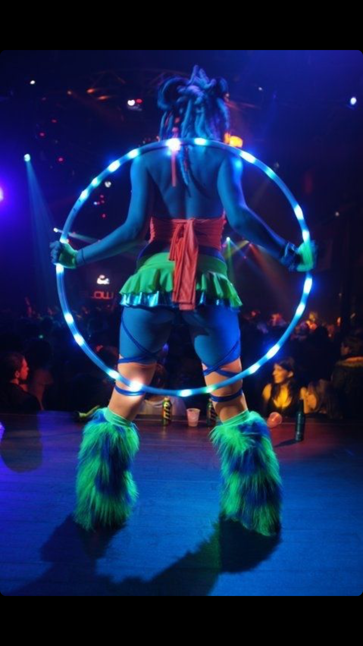Pin By Andre J Denoux On Rave Booty Pinterest Hula Hoop Led And Hoops Edm Girls Festival