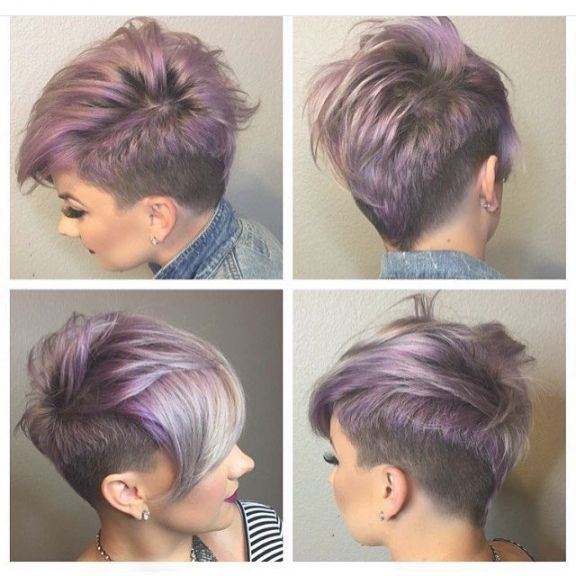 Frisuren Frauen Von Kurzer Dauer Undercut Frisuren Short Hair