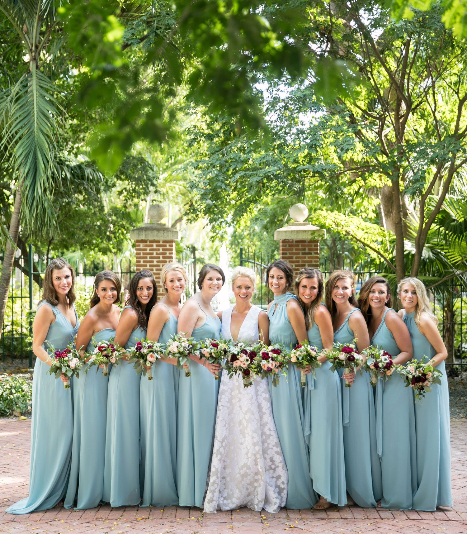 Fall Destination Wedding on the Beach in Key West, Florida