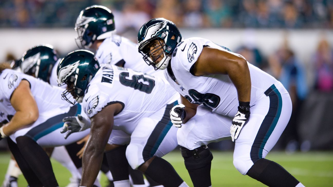 Eagles keep exRugby League star Jordan Mailata on 53man