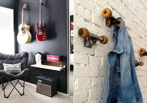 25+ melhores ideias sobre Diy decoração quarto masculino