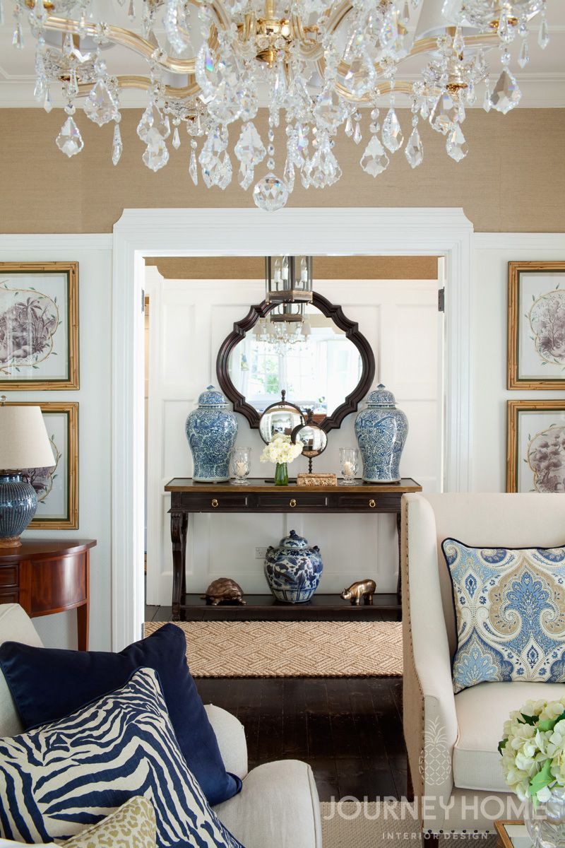 The Money Shot Blue And White Porcelain Black Furniture Lux