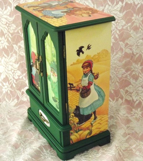 MBS One Of A Kind Wizard Of Oz Jewelry Box by LetaPearlEmporium
