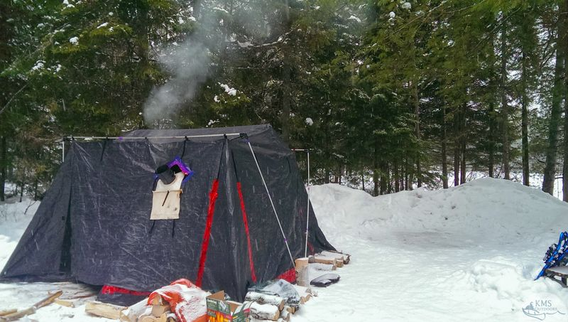 Kate Ming-Sun talks about how Algonquin's Mew lake campground is a great choice for first-time winter campers