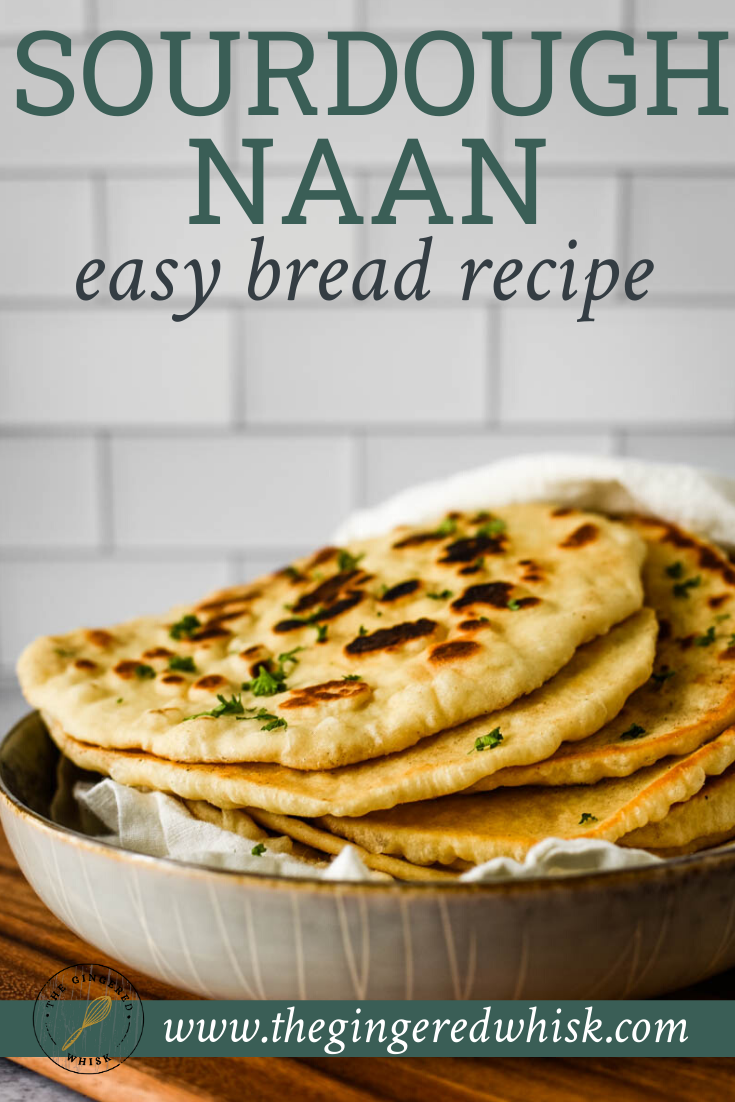 Easy Foolproof Sourdough Naan Recipe