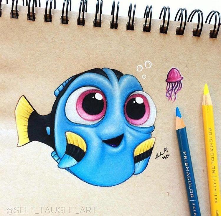 Pin By Glorimar Vazquez On Artwork I Like Cute Disney Drawings Disney Art Drawings Disney Art