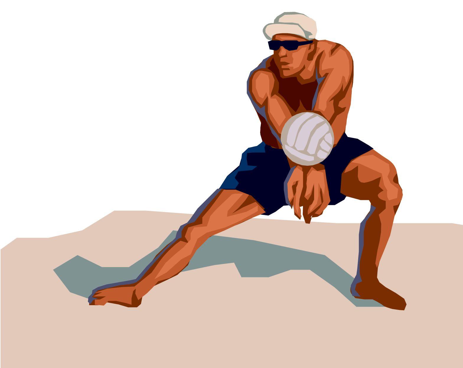 Beach Volleyball Bump Image Beach Volleyball Volleyball Branding Inspiration
