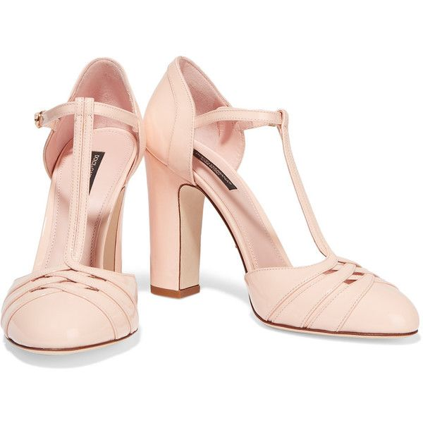 T-bar stilettos - Pink & Purple Dolce & Gabbana FoOTd2gBZW