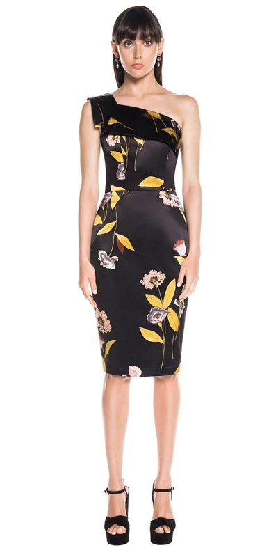 Pencil One Shoulder Dress