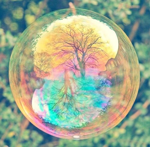 Soversong Reflection Photography Art Bubble Illusion Amazing