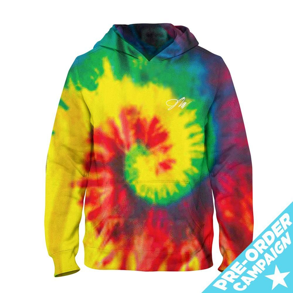 2a7b946d8c76 Kids Jake Paul Signature Rainbow Tie-Dye Hoodie | Merch in 2019 ...
