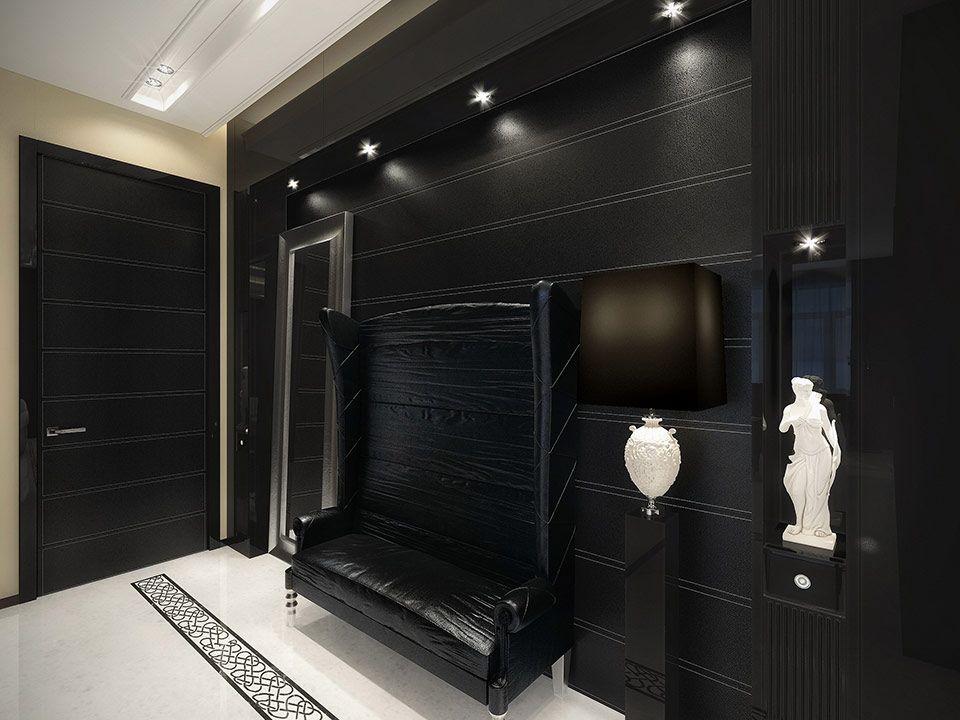 Luxo em preto e branco