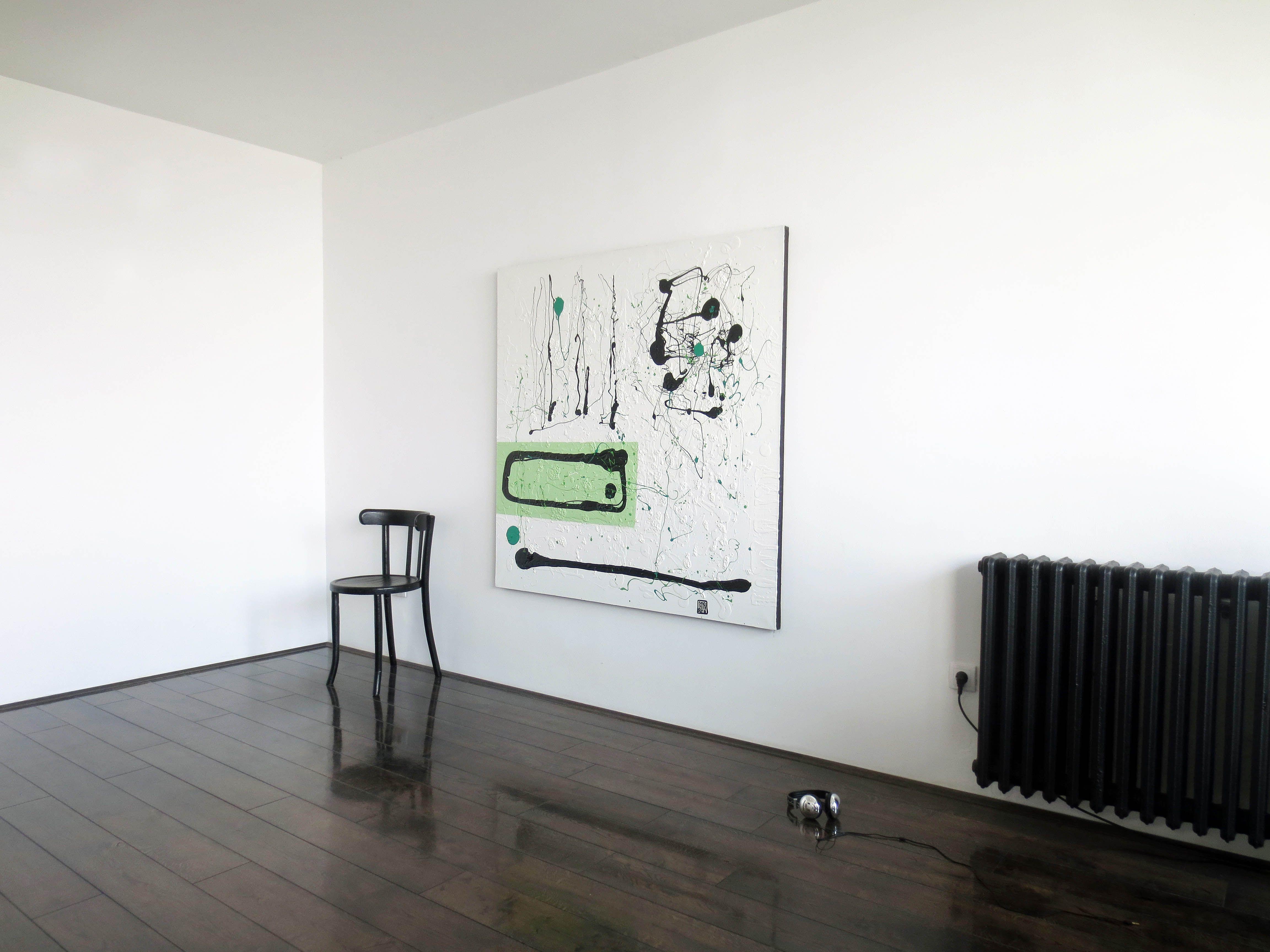 A30 Contemporary abstract Spiritual Architecture Landscape Acrylic