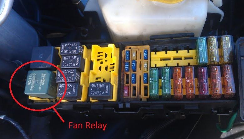 2001 jeep cherokee aux fan relay location Google Search