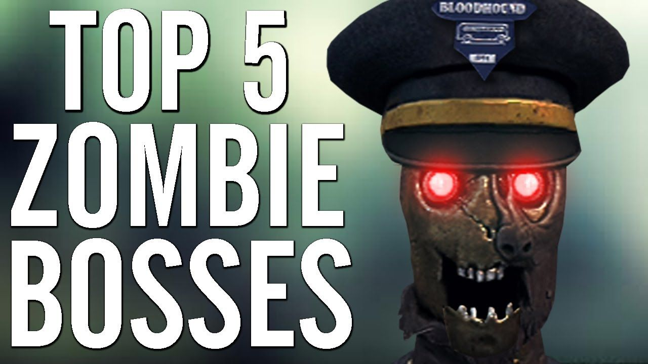 Cod Top 5 Worst Zombie Bosses Call Of Duty Black Ops Black Ops