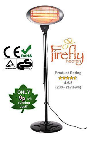 Firefly 2kw Free Standing Patio Heater 3 Settings Https