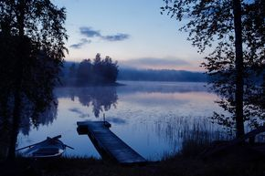 Midsummer and white nights in Finland