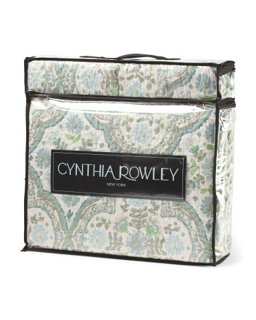 Cynthia Rowley Home Sabrina Quilt Set 60 Queen Size