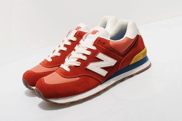 new balance 574 vintage brown