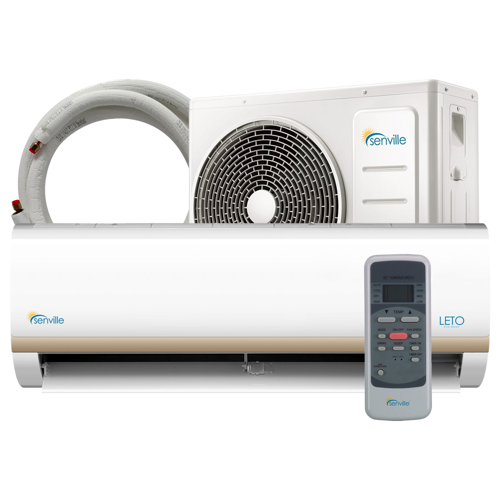 24000 BTU Ductless Heat Pump and Air Conditioner by