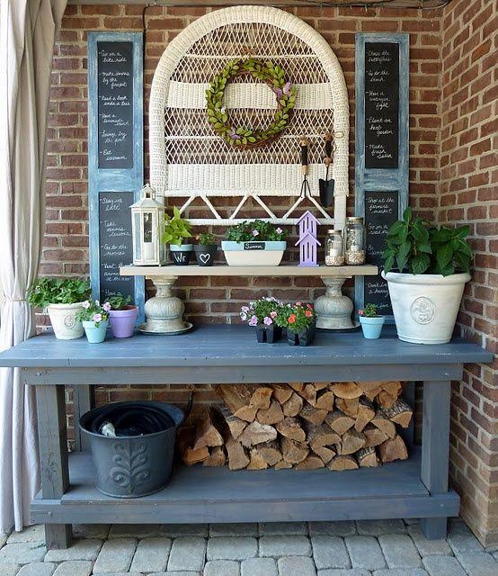 31 Best Potting Bench Design Ideas To Make Gardening Work Easy