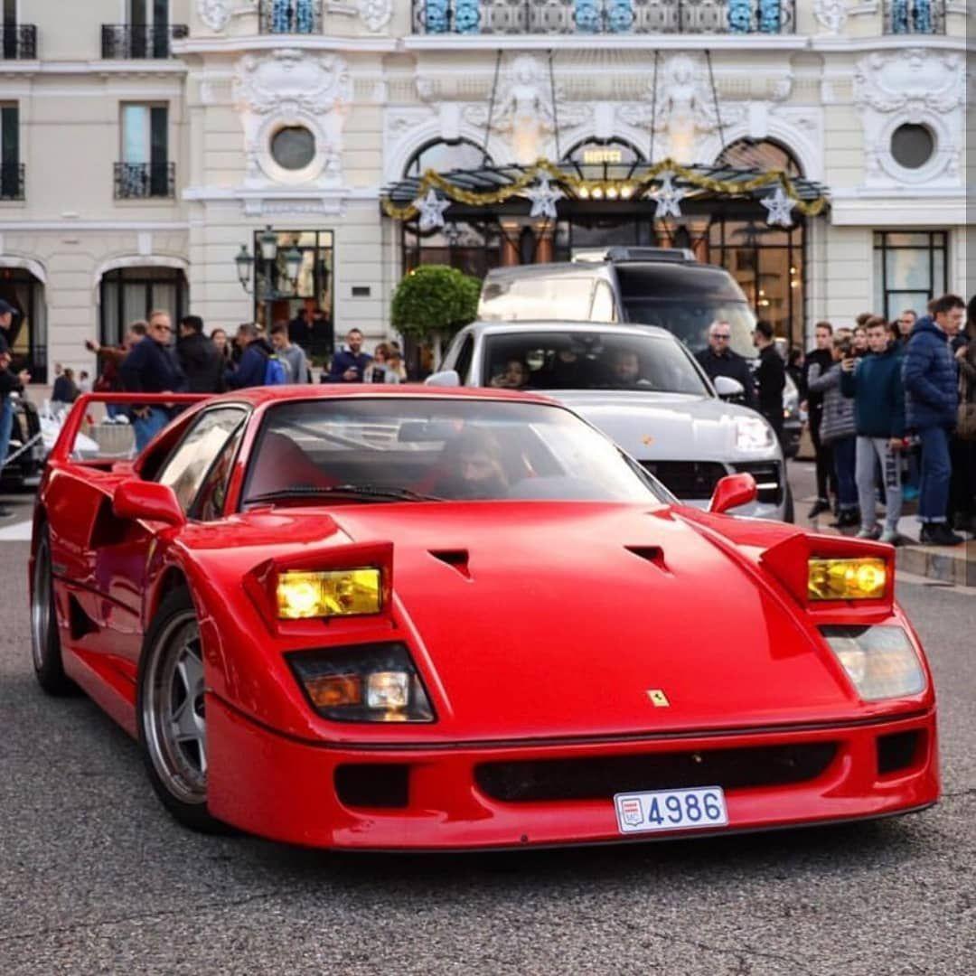 Ferrari F40 On Instagram King Of Pop Up Headlights Kuntzye Team Rossoautomobili F40 1311 Units Ferrari F40 Ferrari Sports Car