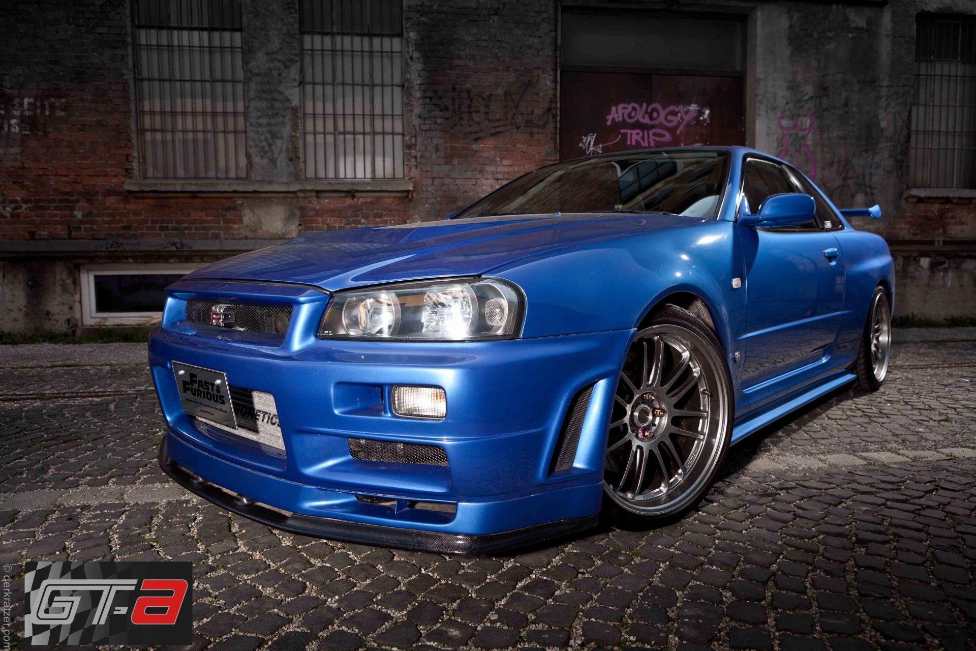 nissan skyline gt r 34 fast furious 4 cars pinterest nissan and nissan skyline. Black Bedroom Furniture Sets. Home Design Ideas