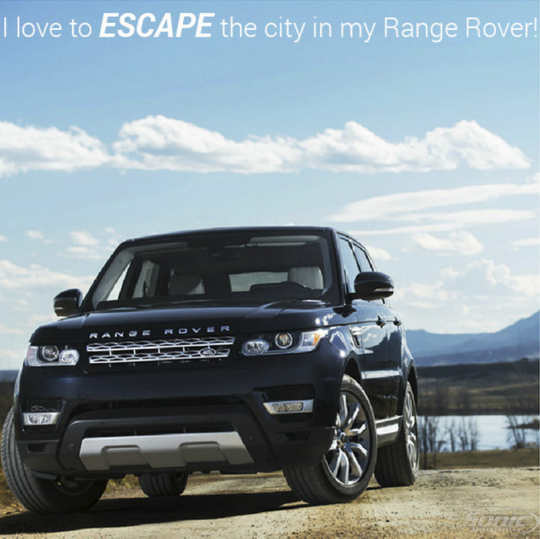 When The Going Gets Tough A Weekend Escape Is Just The Ticket Where Do You Escape To You In Your Range Rover Range Rover Land Rover Weekend Escape