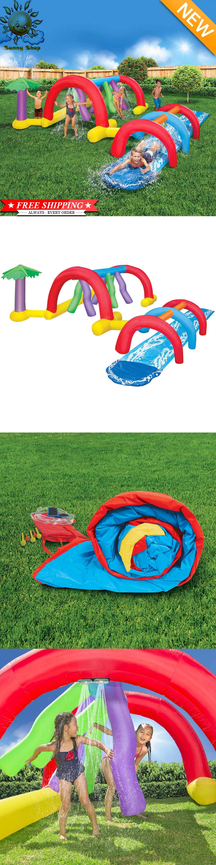 water slides 145992 inflatable water park backyard adventure