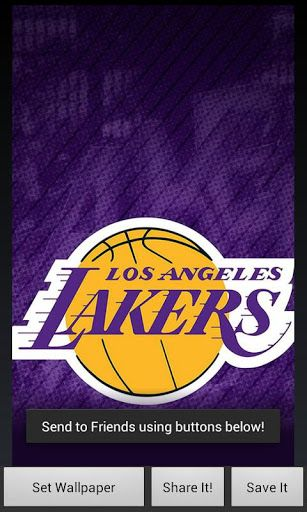 Los Angeles Lakers Fans App Gives You All The Heat You Need In One Place Los Angeles Lakers Wallpaper Button Takes You La Lakers Los Angeles Lakers Wallpaper