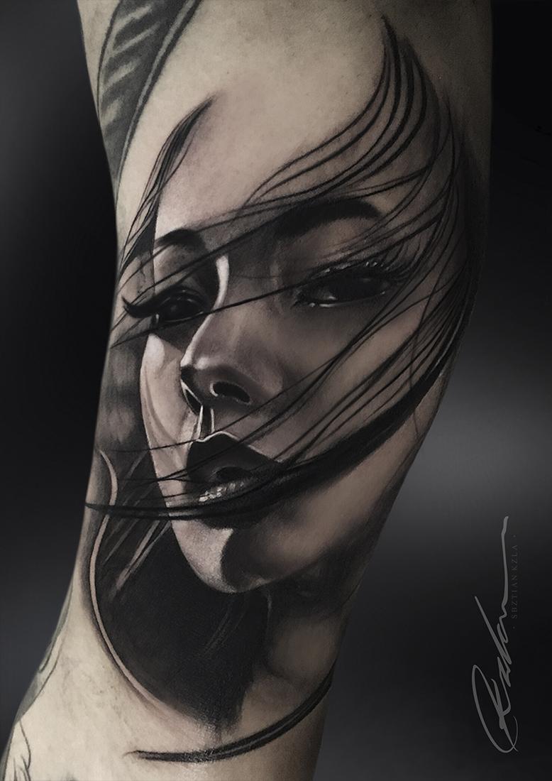 Geisha Tattoo By Kzla Art Geisha Tattoo Full Hand Tattoo Hand Tattoos For Guys