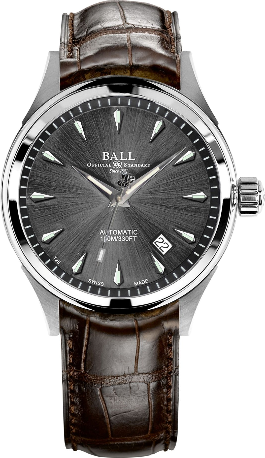 watch official ball standard pulli company time cleveland watches trainmaster ohio webb martin