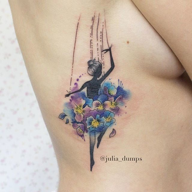 10 Watercolor Tattoo Artists To Follow On Instagram Idei Tatuaje