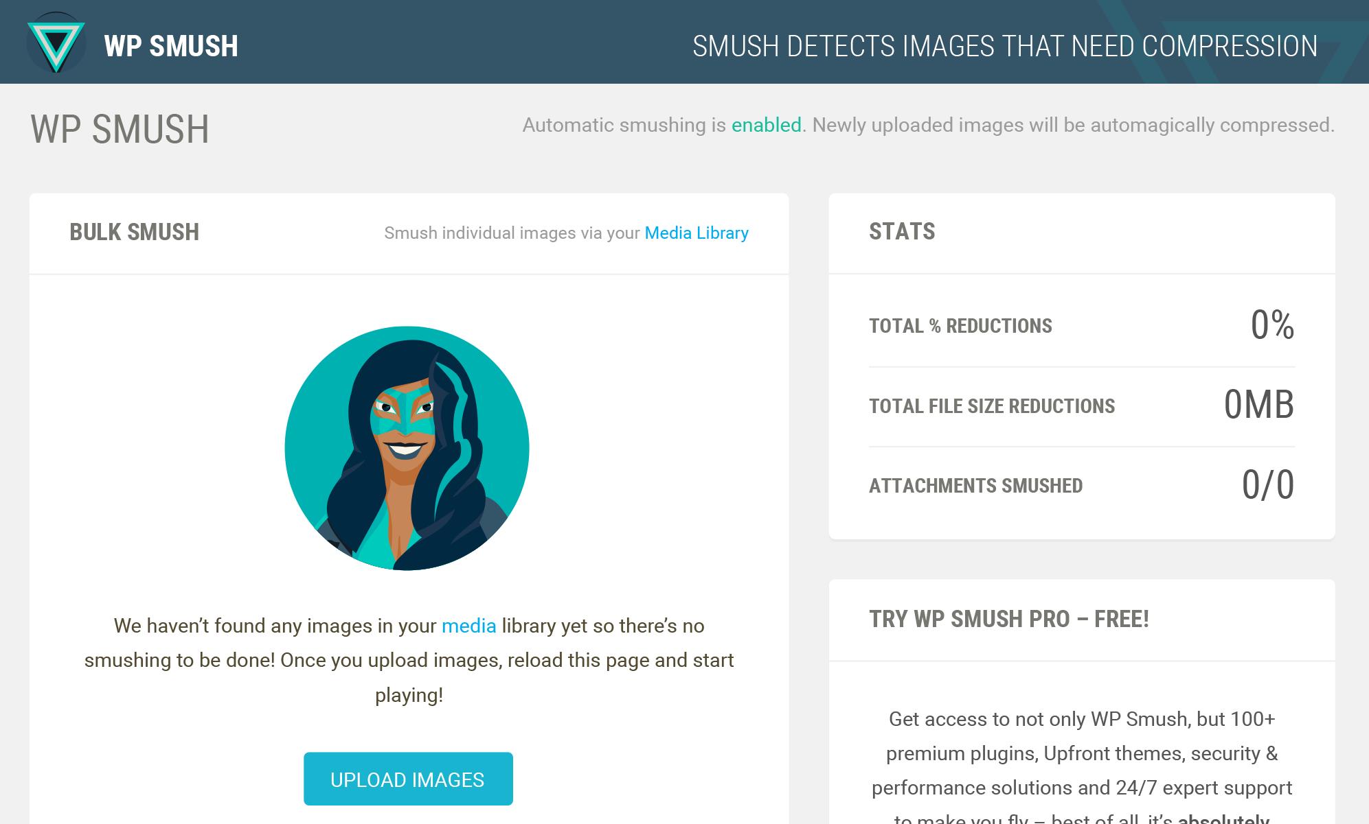 Smush Image Compression and Optimisation - WordPress.org