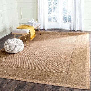 Safavieh Courtyard Natural Gold Indoor Outdoor Rug Free Shipping On Orders Over 45